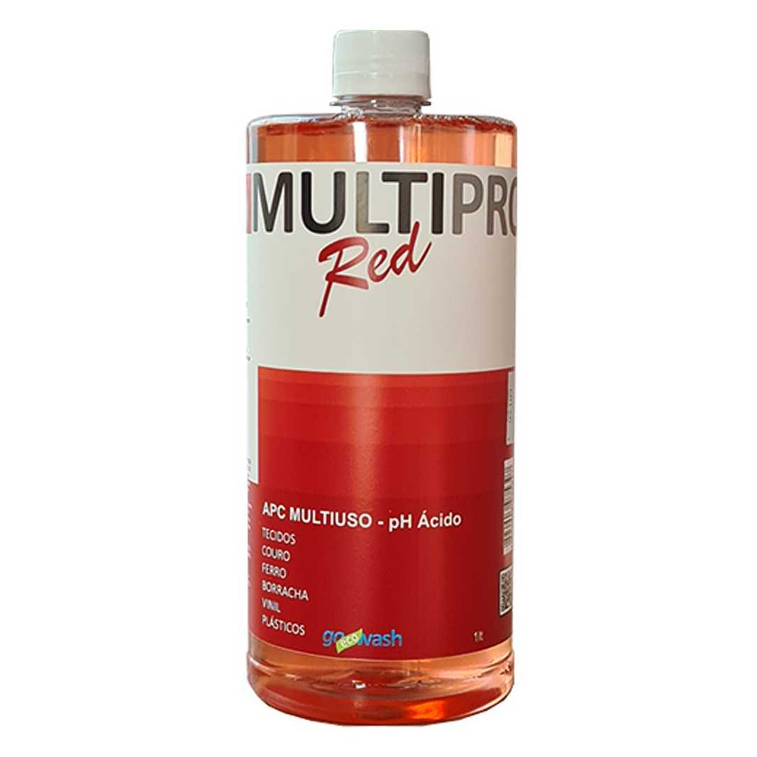 APC MultiPro RED - Limpador Multiuso Ácido 1Lt  (Go Eco Wash)  - Loja Go Eco Wash