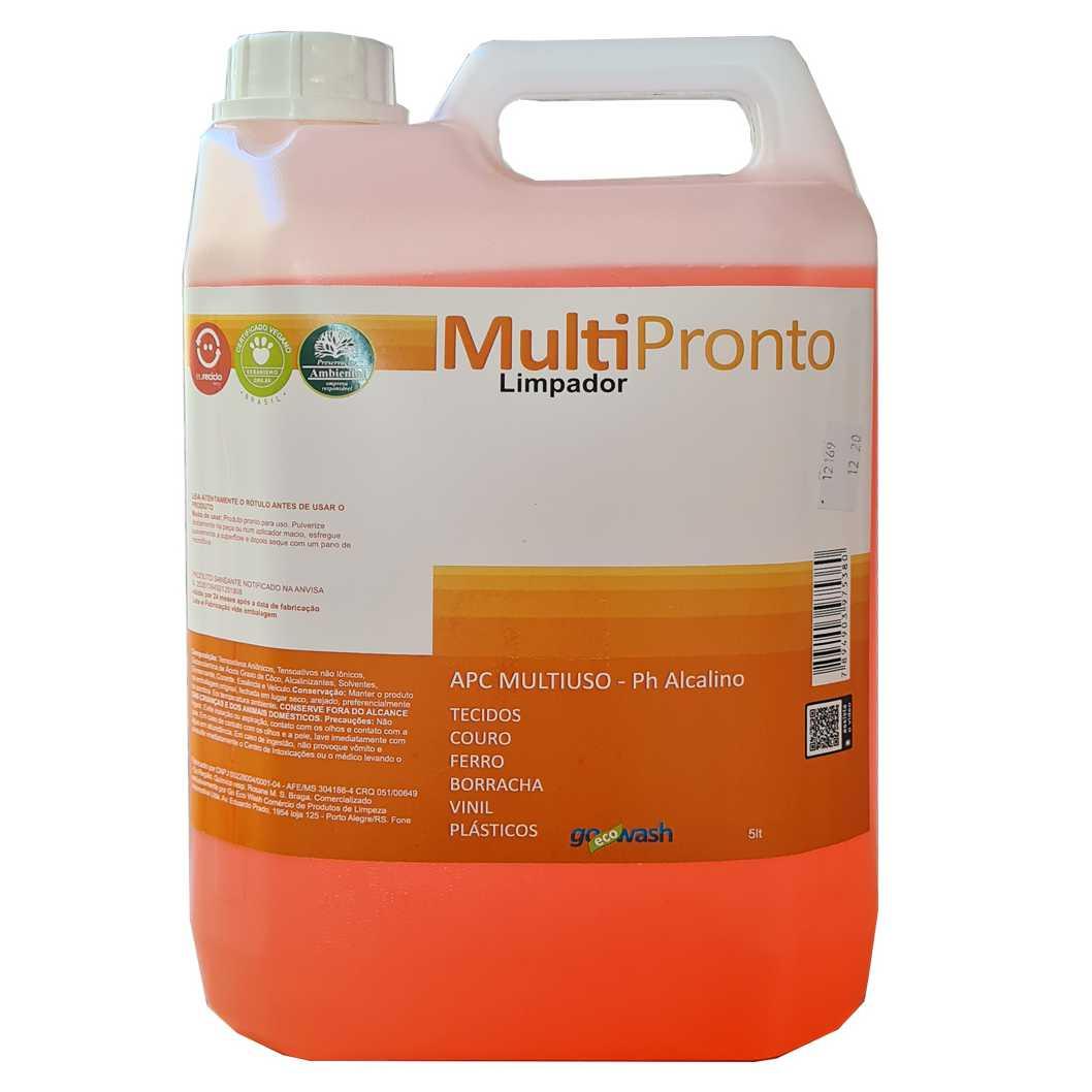 APC MultiPronto- Limpador Multiuso Perfumado 5lt  (Go Eco Wash)  - Loja Go Eco Wash