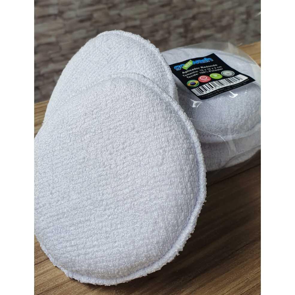Aplicador de Microfibra 10cm x 10cm - Go Eco Wash (2 unidades)  - Loja Go Eco Wash