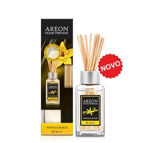 Aromatizante Difusor  Areon HOME Sticks 85ML Vanilla Black   - Loja Go Eco Wash