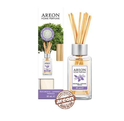 Aromatizante Difusor  Areon HOME Sticks 85ML Patchouli  - Loja Go Eco Wash