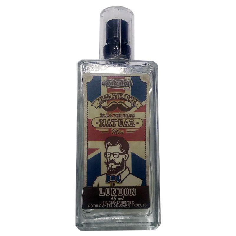 Aromatizante Natuar Men London 45ml Centralsul  - Loja Go Eco Wash