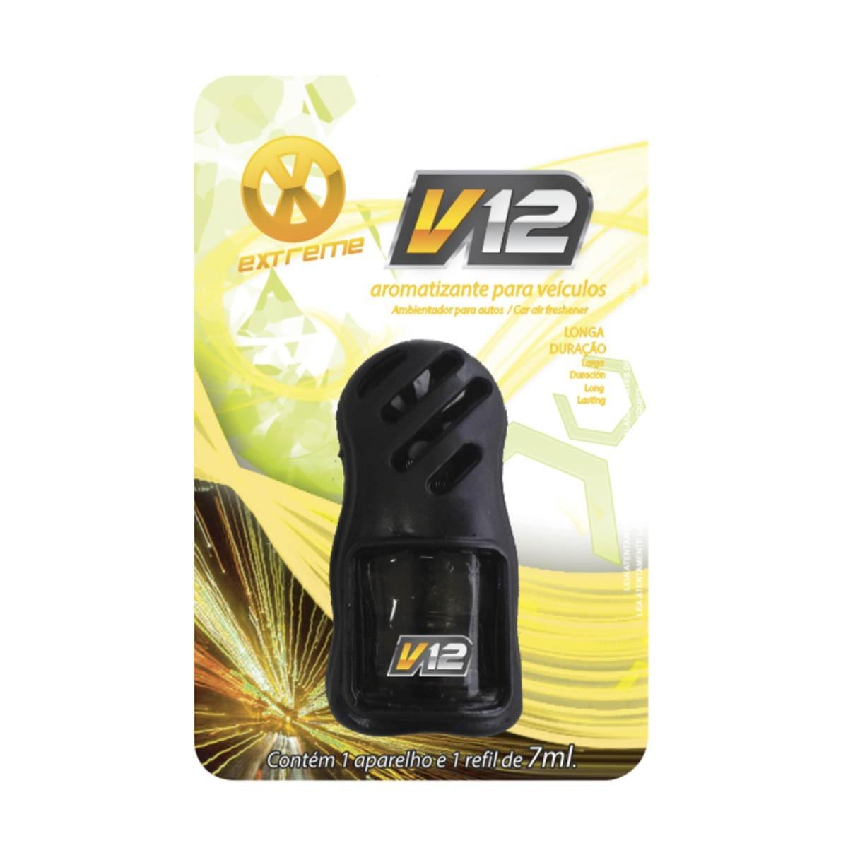 Aromatizante Painel de veículos V12 - EXTREME (7ml) Centralsul  - Loja Go Eco Wash