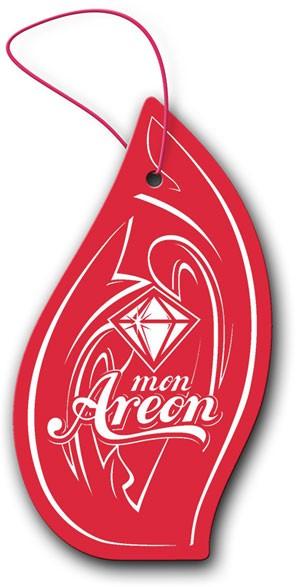 Aromatizante para carro Mon Areon - Apple & Cinnamon (maçã e canela)  - Loja Go Eco Wash