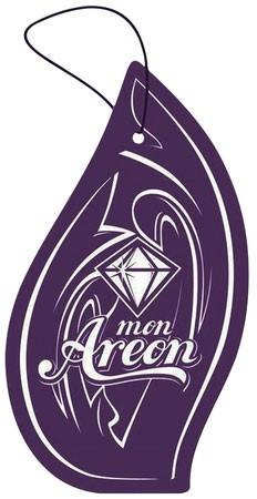 Aromatizante para carro Mon Areon - Black Crystal  - Loja Go Eco Wash