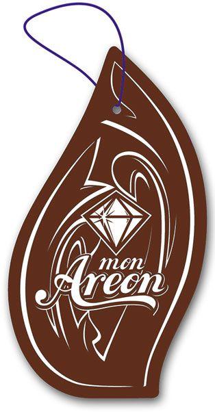 Aromatizante para carro Mon Areon - Leather (couro)  - Loja Go Eco Wash