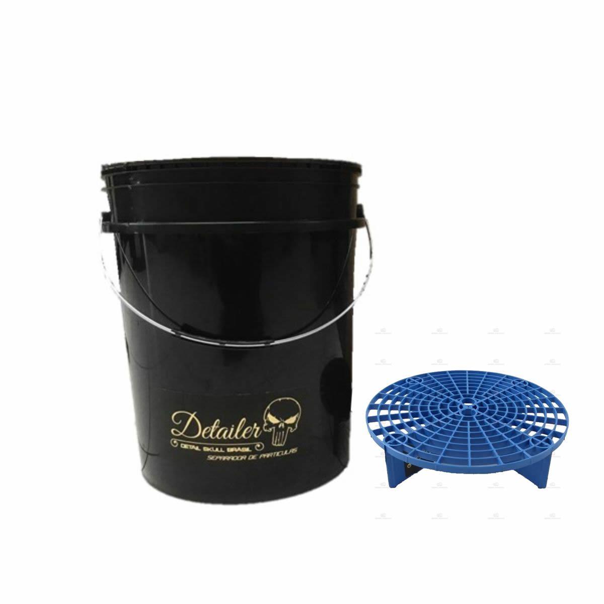 Balde Separador de Partículas Detailer - Grelha Azul  - Loja Go Eco Wash