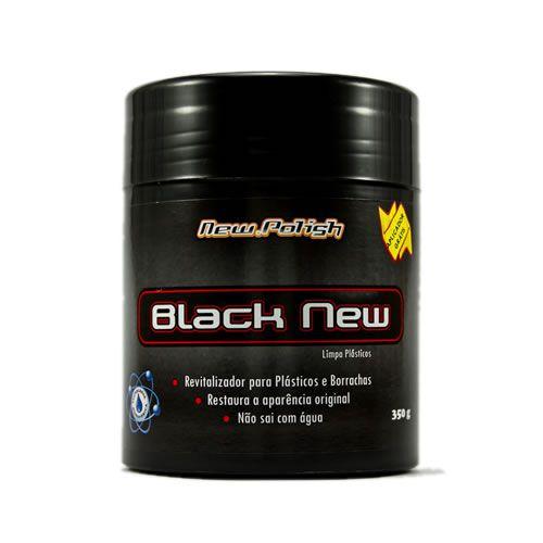 Black New 350g - Revitalizador de Plásticos New Polish  - Loja Go Eco Wash