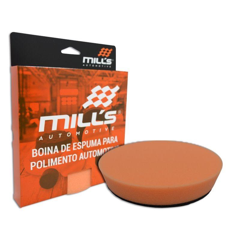 Boina de Espuma Corte Médio 5 pol MILLS  - Loja Go Eco Wash