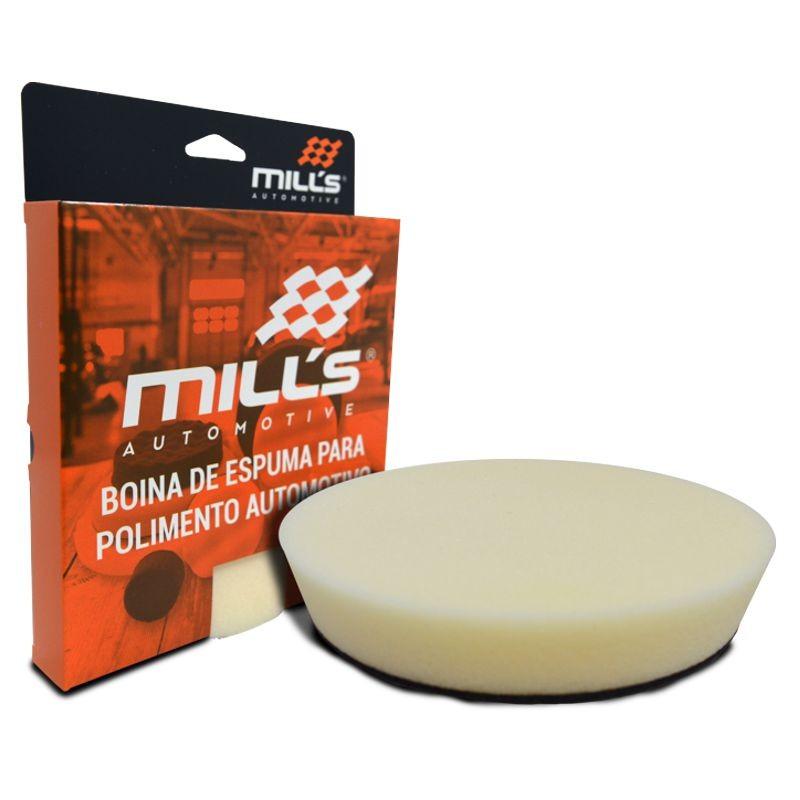 Boina de Espuma Macia / Refino 6 pol MILLS  - Loja Go Eco Wash
