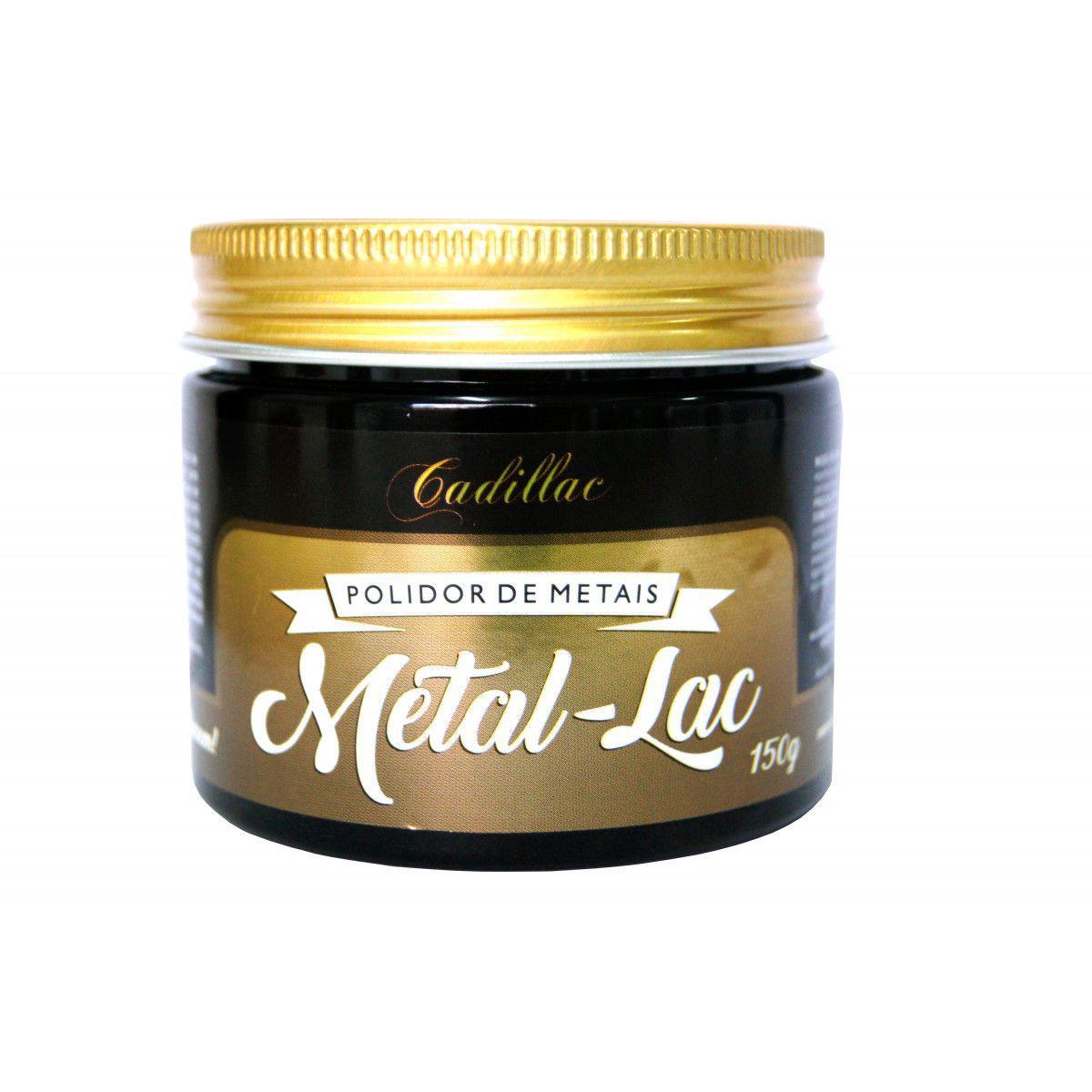 Cadillac Metal-Lac Polidor de Metais 150g  - Loja Go Eco Wash