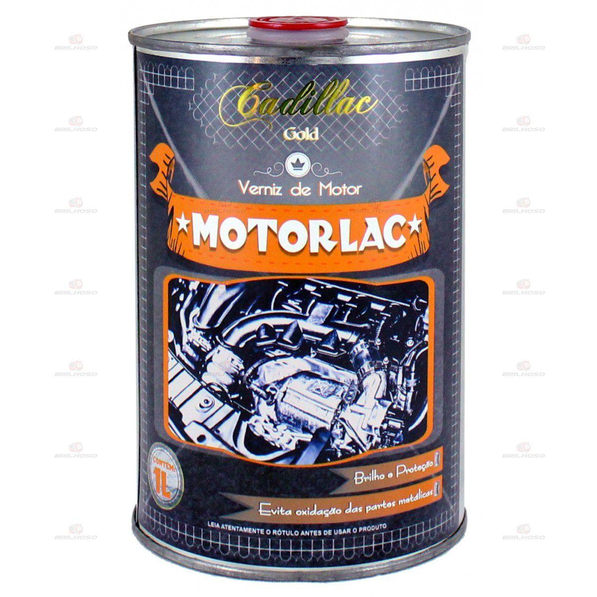 Cadillac Motorlac Verniz de Motor 1 litro  - Loja Go Eco Wash