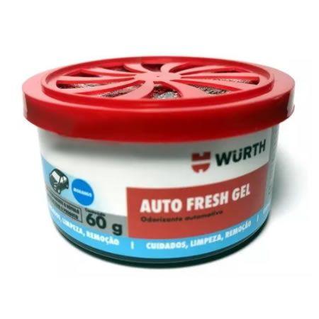 CHEIRINHO ODORIZADOR AUTO FRESH GEL WURTH - MORANGO  - Loja Go Eco Wash