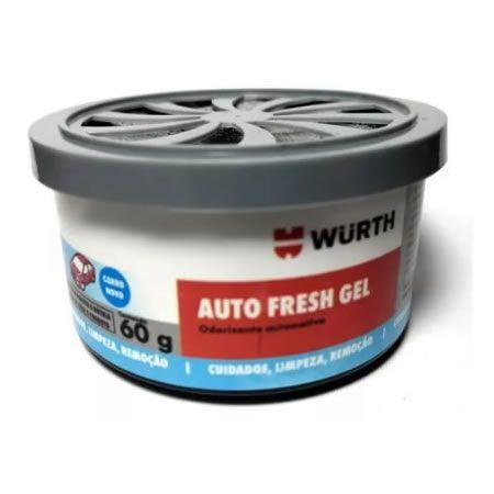 CHEIRINHO ODORIZADOR AUTO FRESH GEL WURTH - CARRO NOVO  - Loja Go Eco Wash