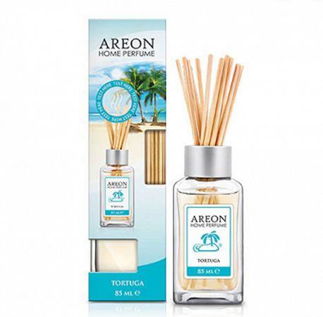 Aromatizante Difusor  Areon HOME Sticks 85ML Tortuga  - Loja Go Eco Wash