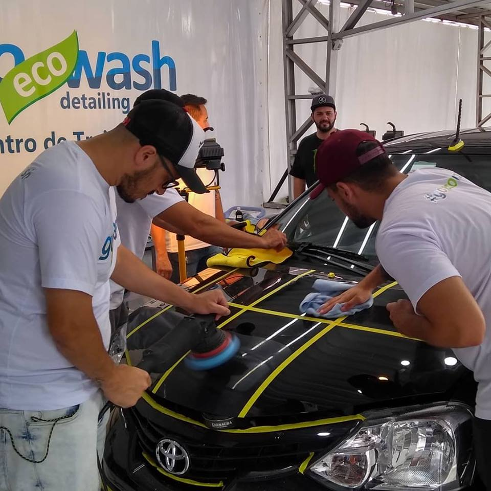 Curso Estética Automotiva + Polimento e Vitrificação  - Porto Alegre/RS  - Loja Go Eco Wash