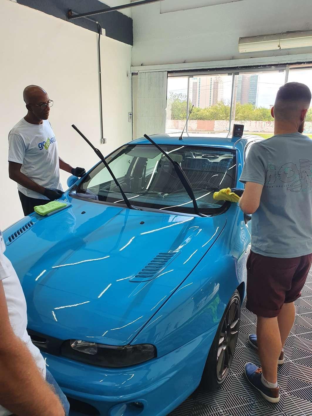 Curso Estética Automotiva + Higienização de Estofados + Lav. Ecológica  - Loja Go Eco Wash