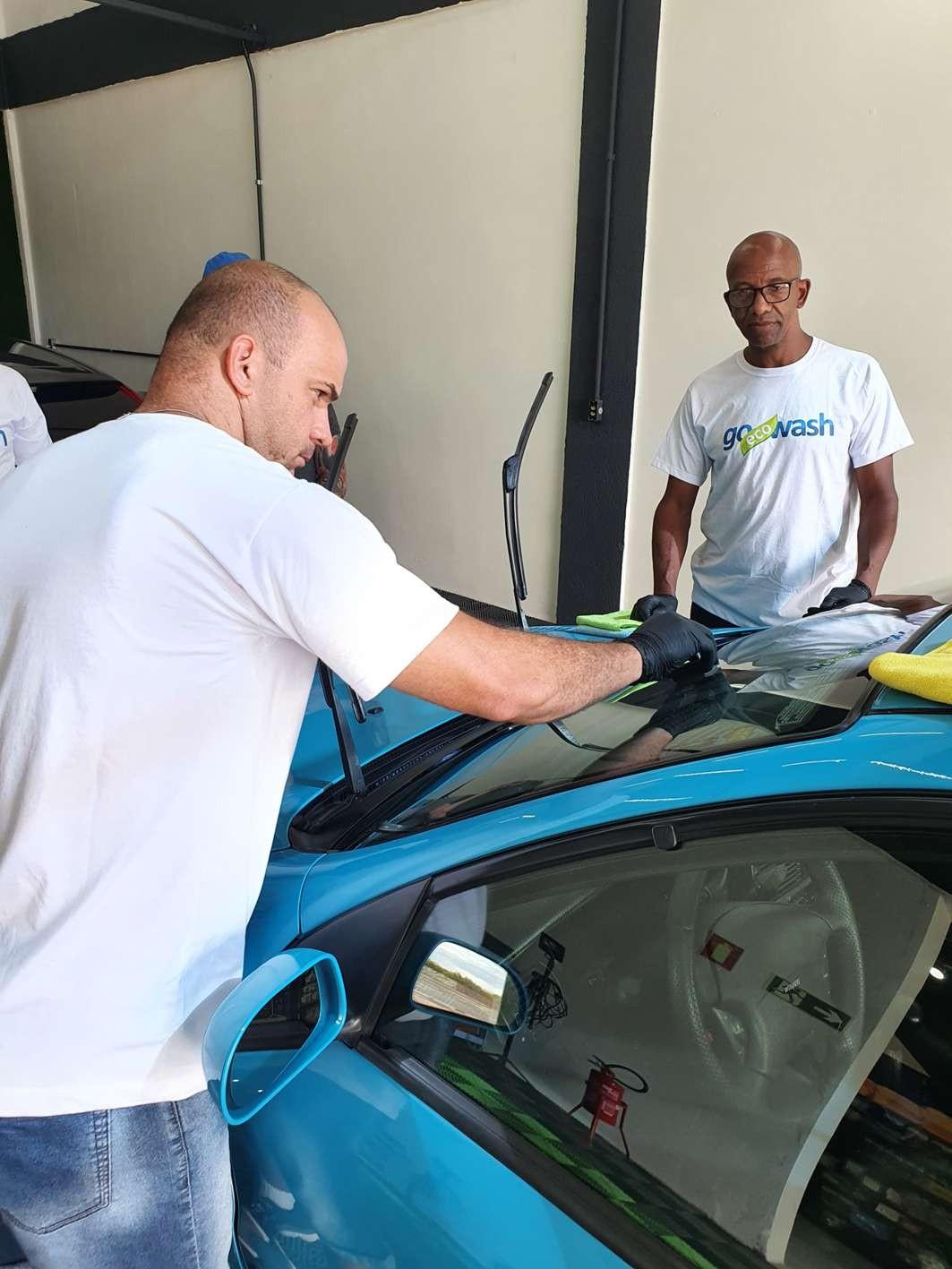 Curso Estética Automotiva + Higienização + Polimento e Vitrificação  - Loja Go Eco Wash