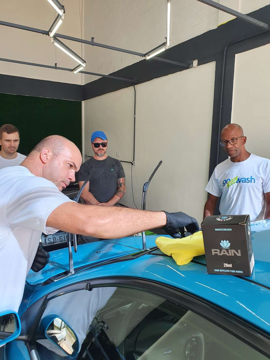 Curso Estética Automotiva + Higienziação de Estofados + Polimento e Vitrificação  - Loja Go Eco Wash