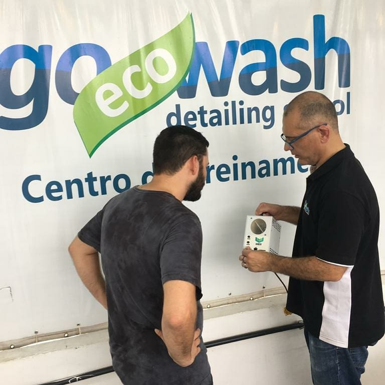 Curso Higienização e Impermeabilização de Estofados  - Loja Go Eco Wash