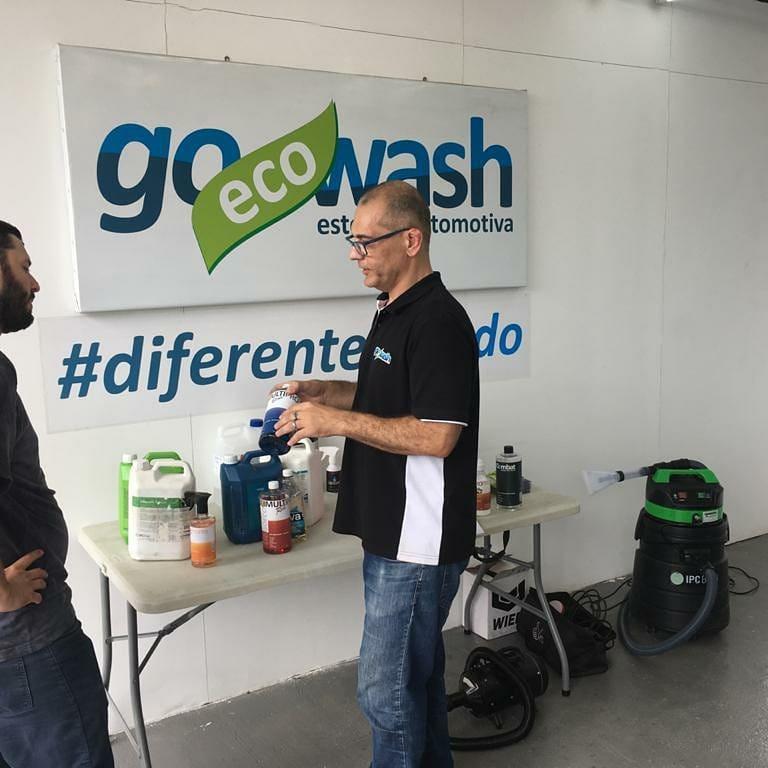 Curso Higienização e Impermeabilização de Estofados - Porto Alegre/RS  - Loja Go Eco Wash