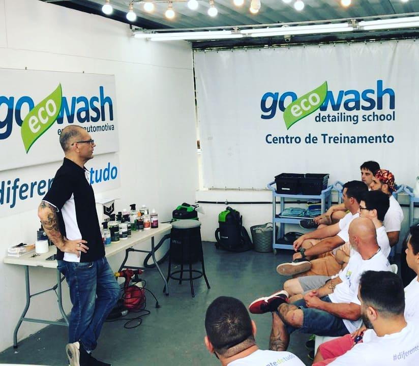 Curso Lavagem Ecológica e Proteções - Porto Alegre/RS  - Loja Go Eco Wash