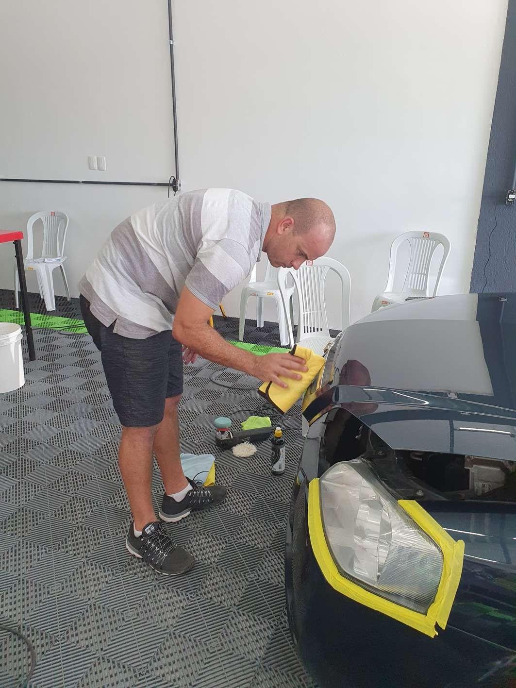 Curso Polimento Técnico e Vitrificação  - Loja Go Eco Wash
