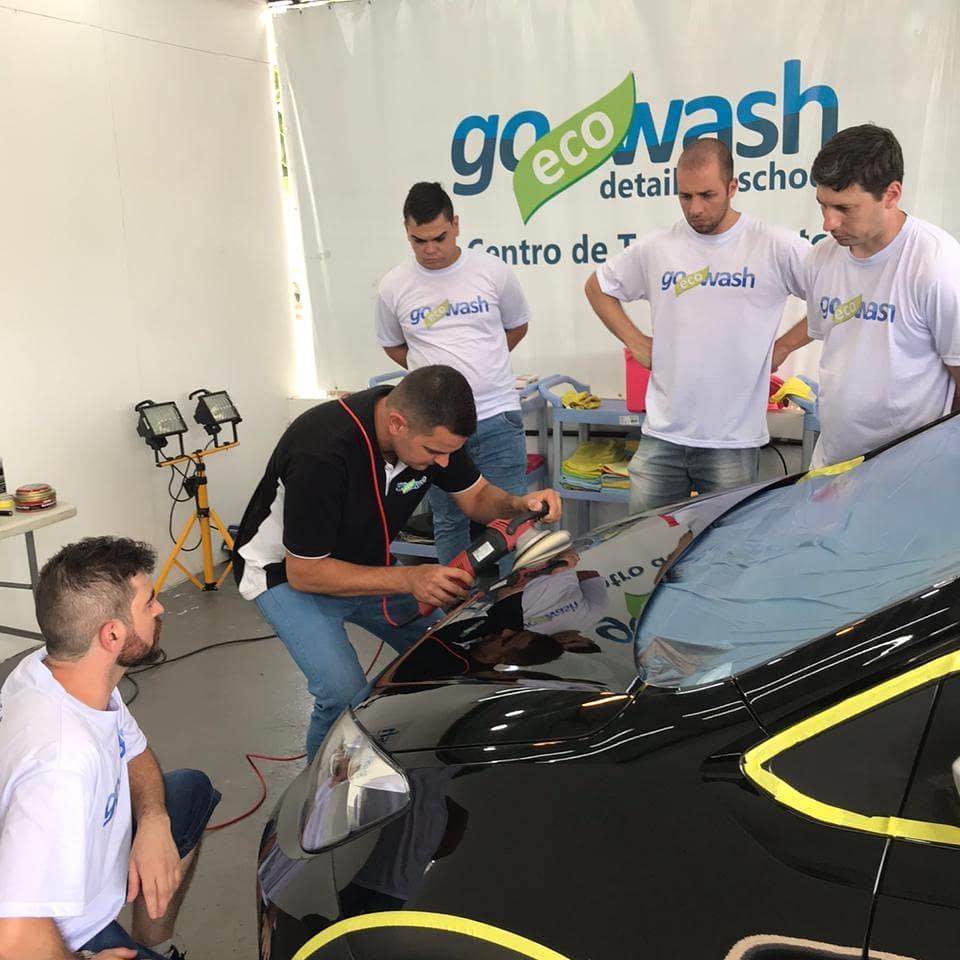 Curso Polimento Técnico e Vitrificação - Porto Alegre/RS  - Loja Go Eco Wash