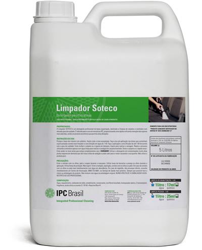 Detergente Extratora Limpador 5 Litros IPC Soteco  - Loja Go Eco Wash