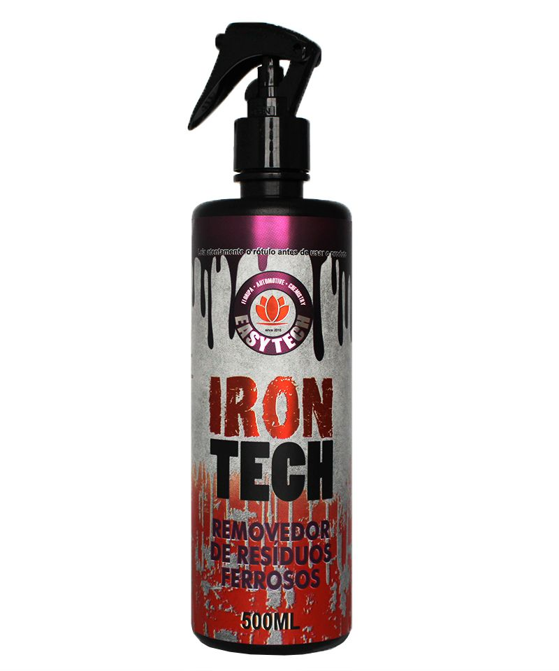 Easytech Iron Tech Removedor de Resíduos Ferrosos - 500ml  - Loja Go Eco Wash