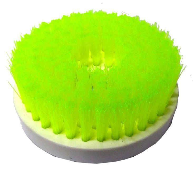 Escova Rotativa Limpeza Estofados Média - Politriz e Furadeira  - Loja Go Eco Wash