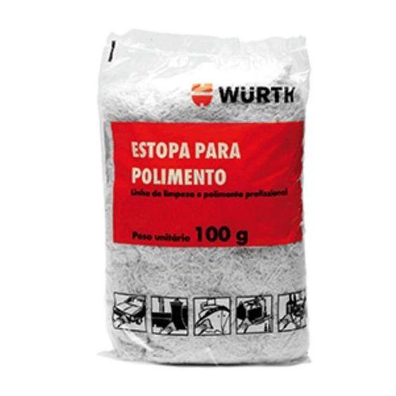 Estopa para polimento 100gr Wurth  - Loja Go Eco Wash