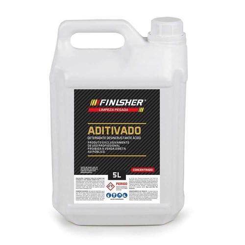 FINISHER ADITIVADO DESINCRUSTANTE ÁCIDO 5L  - Loja Go Eco Wash