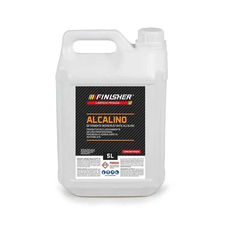 Finisher Desincrustante Alcalino 5l   - Loja Go Eco Wash