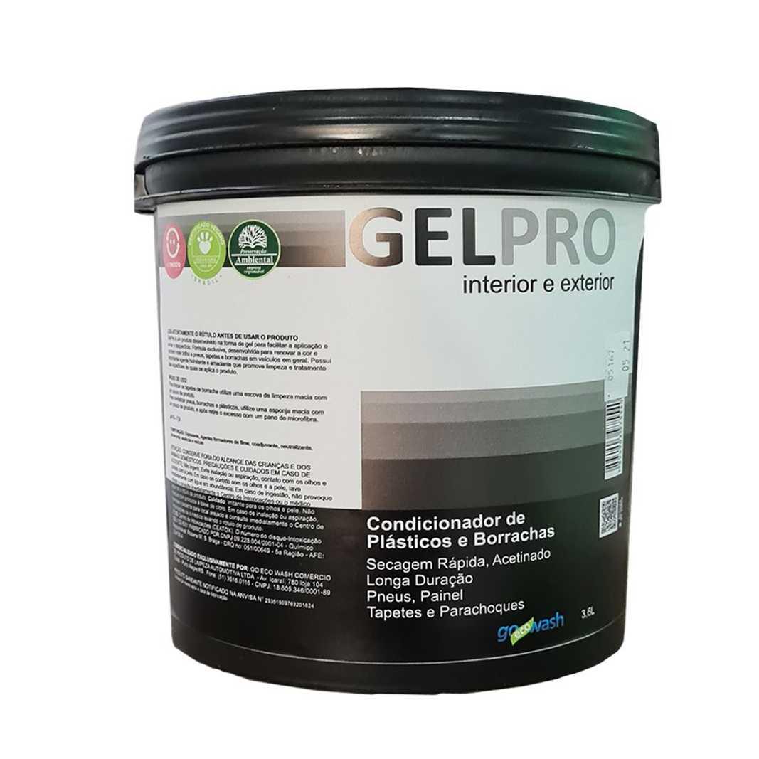 GelPro - Gel Silicone  renovador de plásticos e borrachas 3,6kg  (Go Eco Wash)  - Loja Go Eco Wash