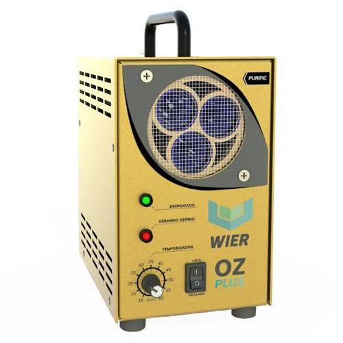 Gerador de Ozônio Wier Oxi-Sanitização (bi-volt) - PLUS GOLD  - Loja Go Eco Wash