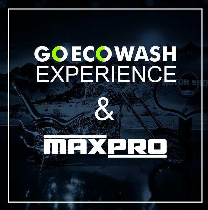 Go Eco Wash Experience + WorkShop MaxPro - Edição 2  - Loja Go Eco Wash