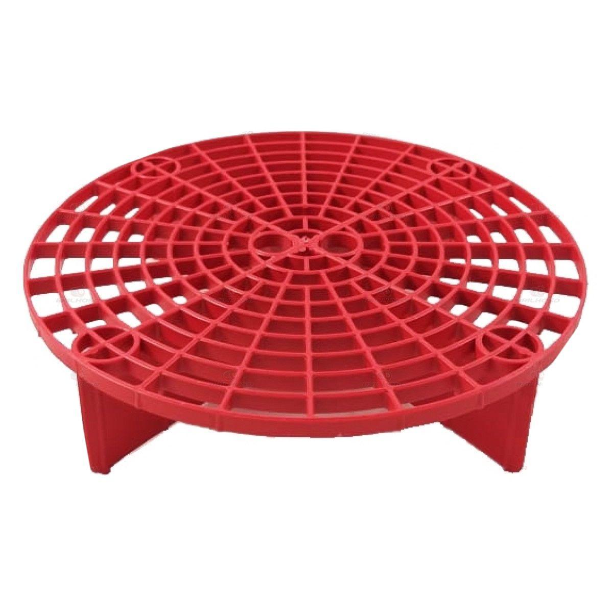 Grelha Separadora de Partículas Avulsa - Vermelha  - Loja Go Eco Wash