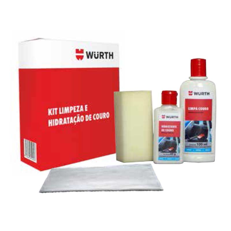 KIT Limpeza e Hidratação de Couro Wurth  - Loja Go Eco Wash