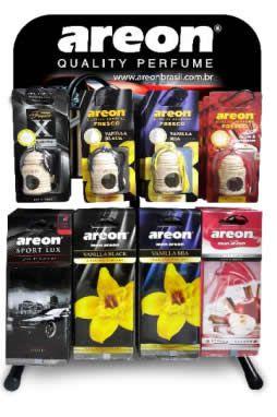 Kit Plus Areon - Aromatizantes + Expositor  - Loja Go Eco Wash