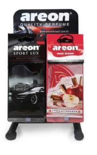 Kit Start Areon - Aromatizantes + Expositor  - Loja Go Eco Wash