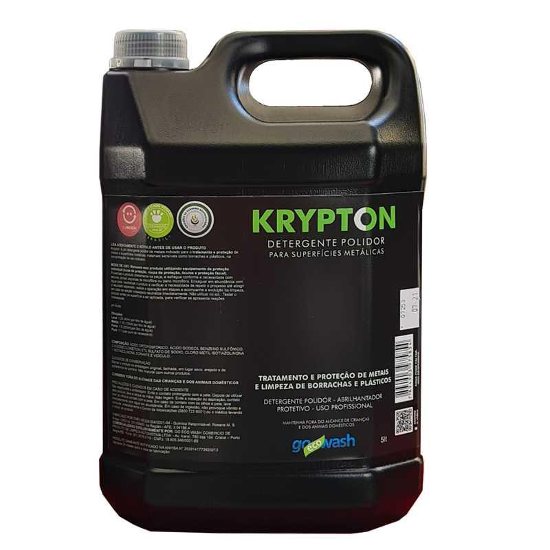 Krypton Detergente Polidor para Metais, Borrachas  e Plásticos 5lt (Go Eco Wash)  - Loja Go Eco Wash