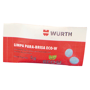 LIMPA PARA-BRISA ECO-W WURTH (1 un)  - Loja Go Eco Wash