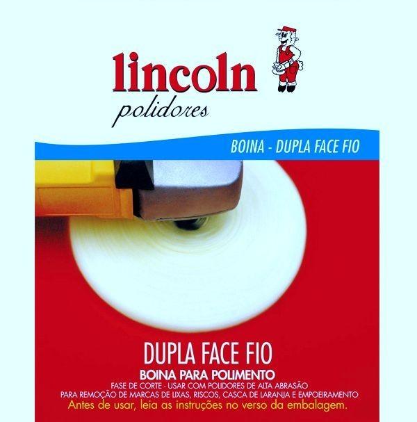 Lincoln Boina Dupla Face Fio Branca  - Loja Go Eco Wash