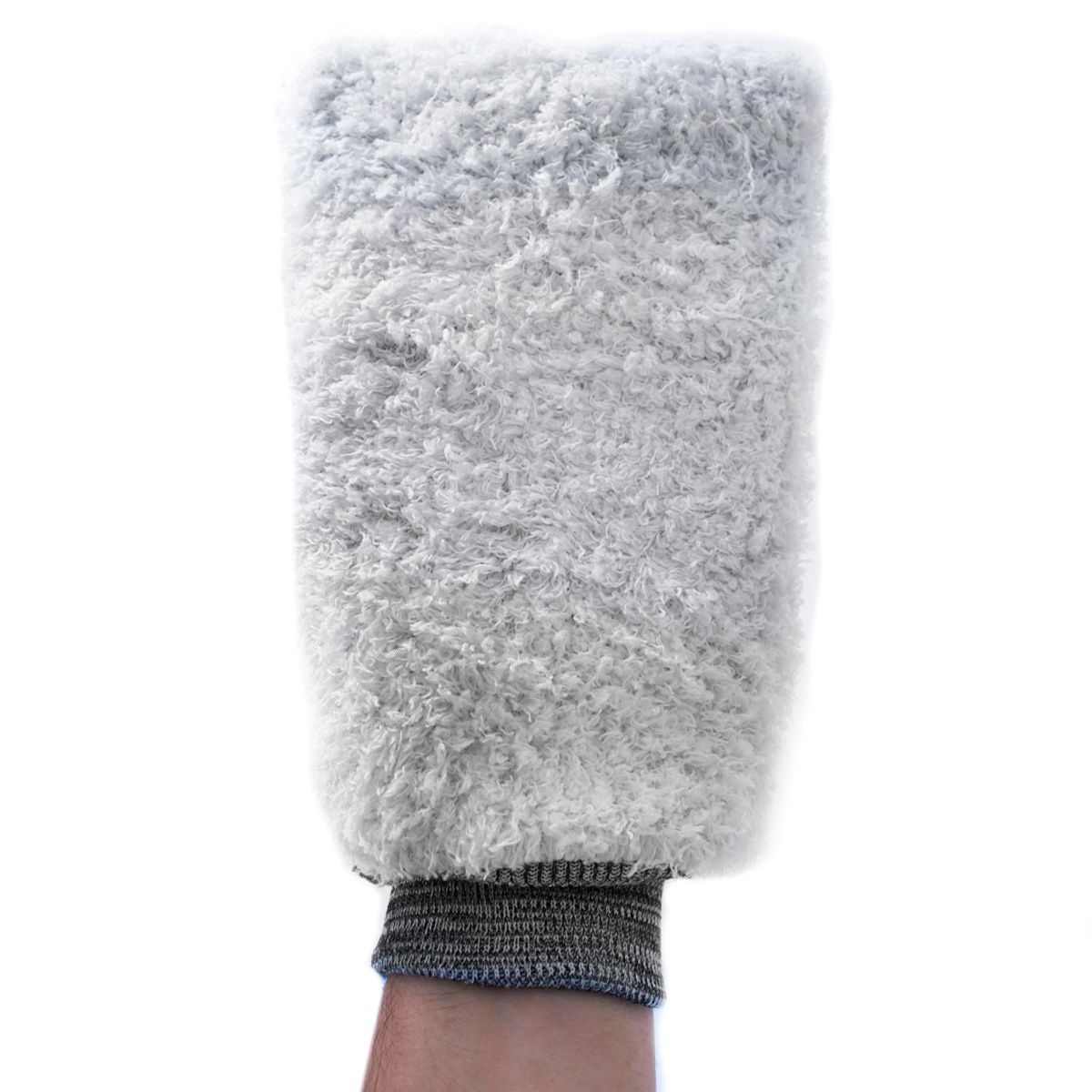 Luva de Microfibra Powerful Branca - Detailer  - Loja Go Eco Wash