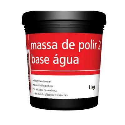 Massa de Polir N.2 Base água MAXI RUBBER 1Kg  - Loja Go Eco Wash