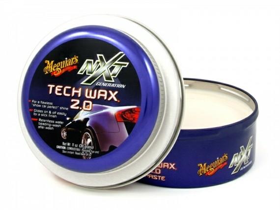 Meguiars Cera NXT Generation Tech Wax 2.0 Paste Wax, G12711 (311g)   - Loja Go Eco Wash
