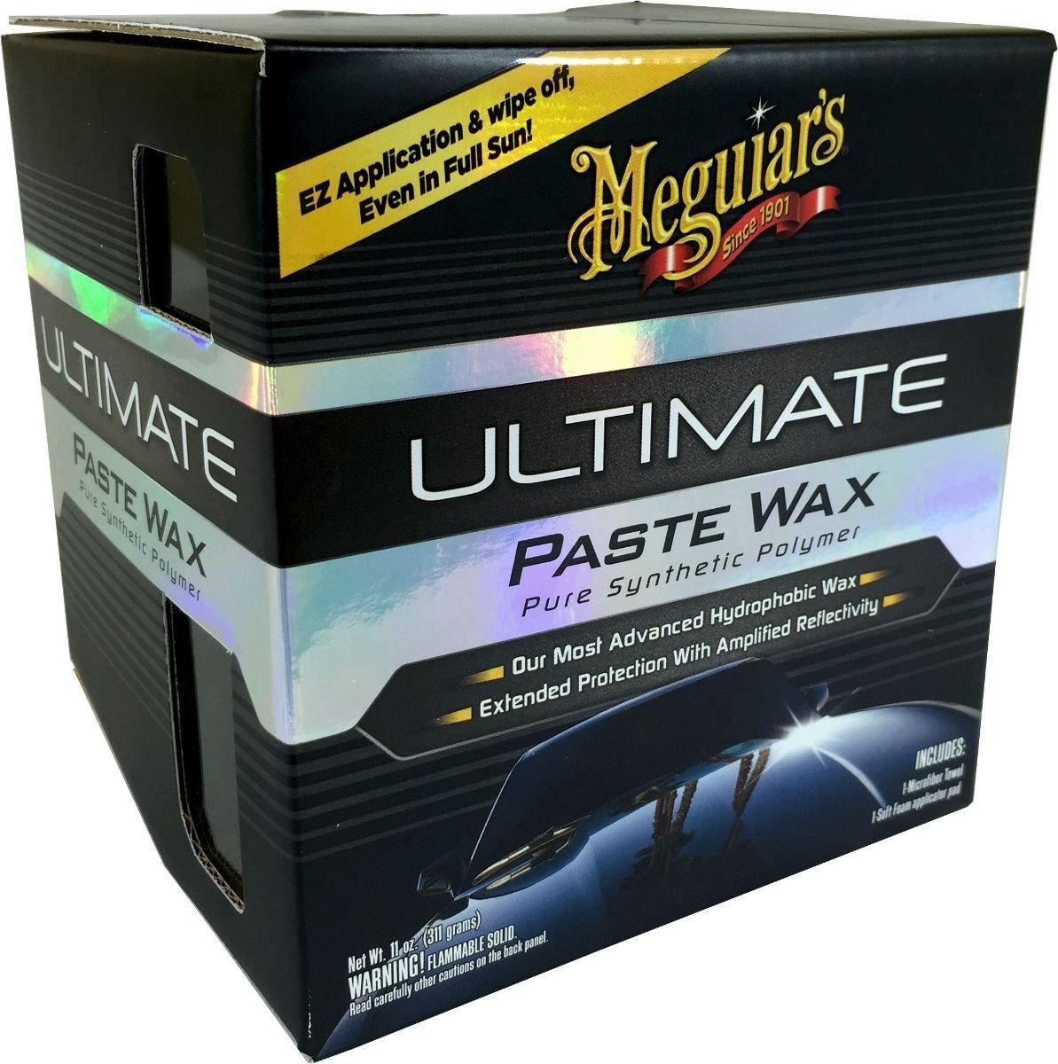 Meguiars Ultimate Paste Wax Cera - UPW, G18211 (311g)   - Loja Go Eco Wash