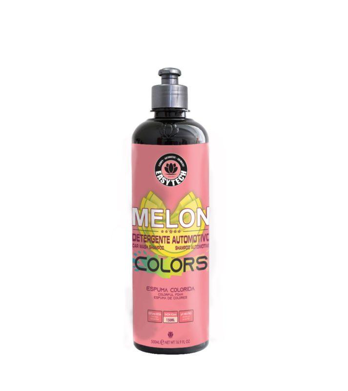 MELON COLOURS Easytech - SHAMPOO AUTOMOTIVO ESPUMA ROSA 500ml  - Loja Go Eco Wash
