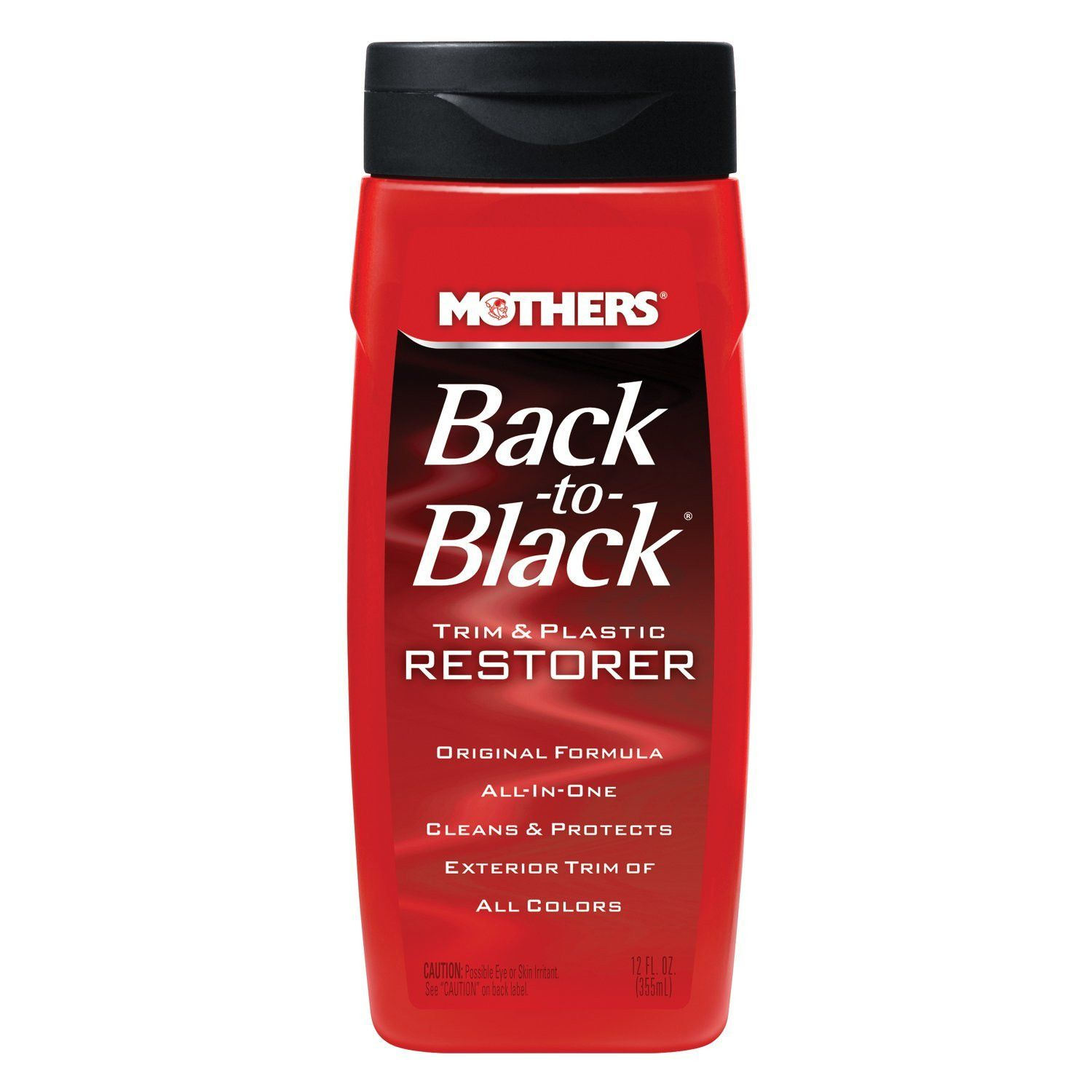 MOTHERS BACK TO BLACK RENOVA PLÁSTICO 355ML  - Loja Go Eco Wash